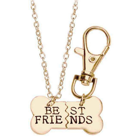 Dog Best Friends Necklace