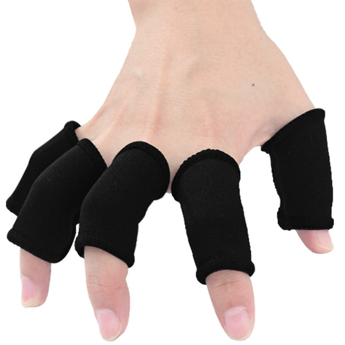 10 PCS Elastic Finger Sleeves  Finger Brace