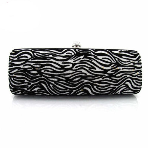 Zebra Patterned Clutch