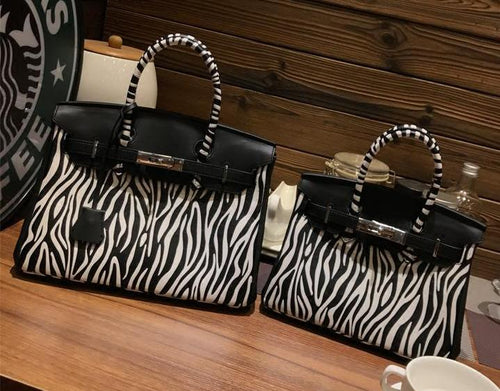 Zebra Animal Pattern Handbag