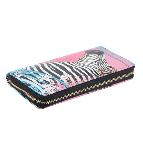 Graffiti Zebra Wallet