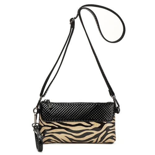 Zebra Fashion Purse Dual Removable Strap