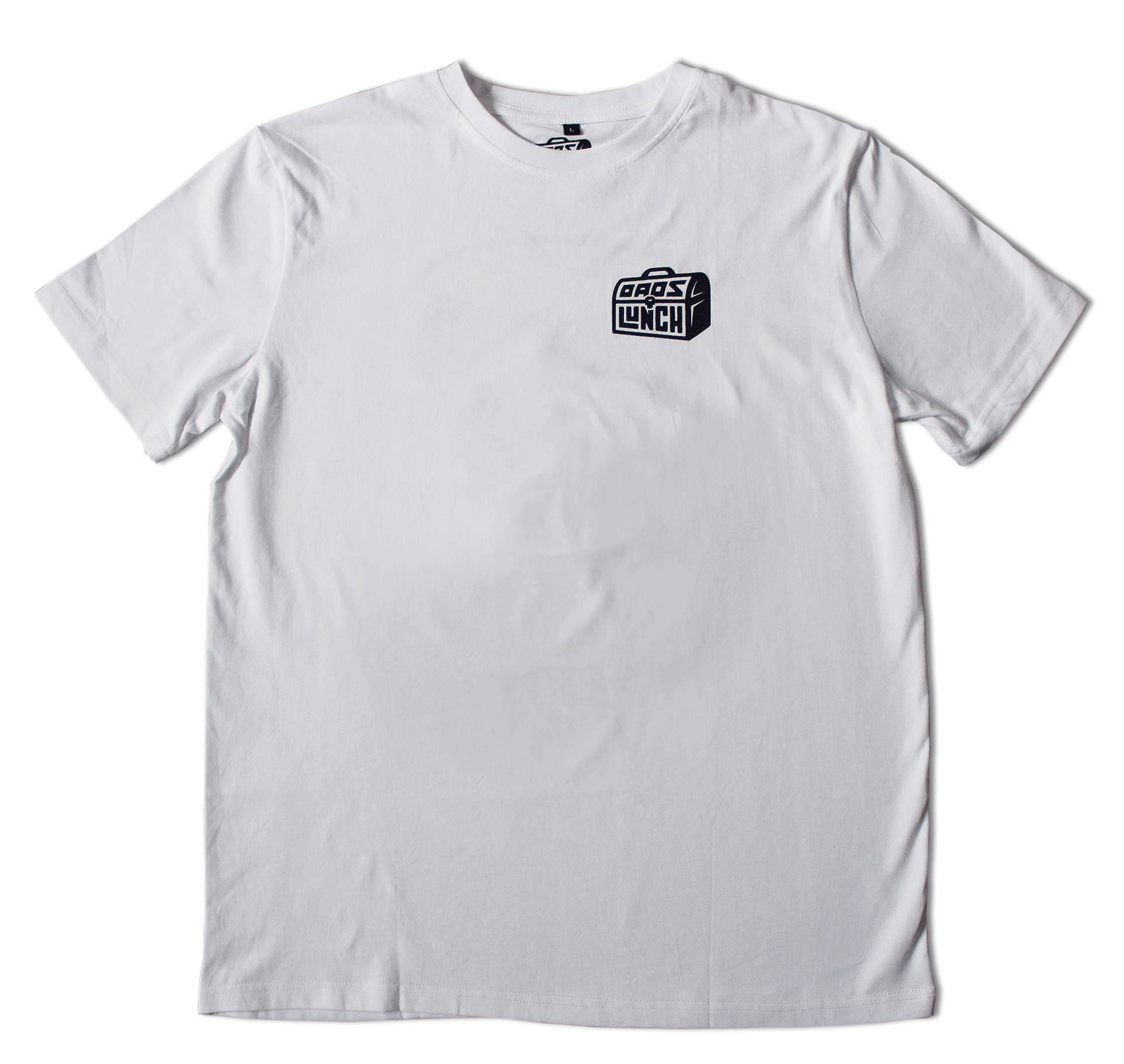 "The Classic ""Bean Can"" Tee — White/Blue"