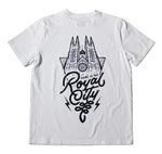 """Royal City"" Tee — White"