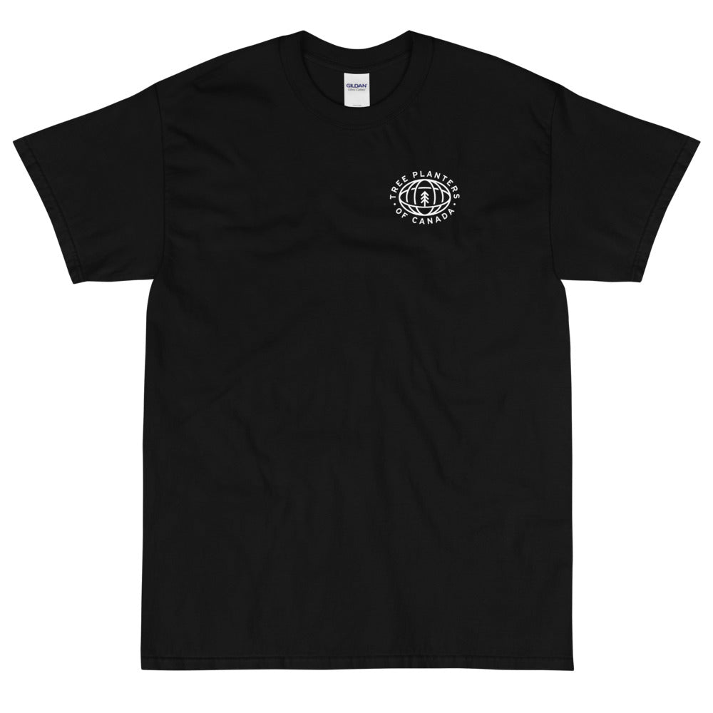 'Tree Planters of Canada' T-Shirt – Black/White