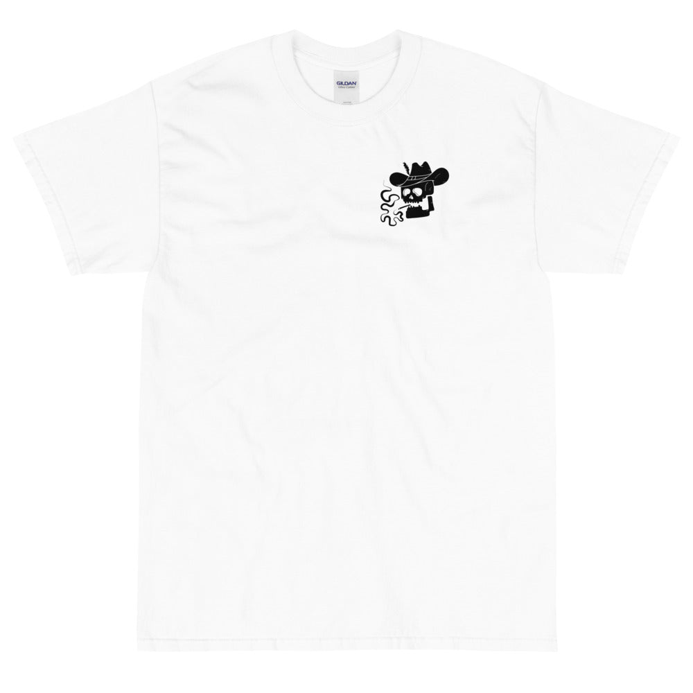 'Camp Mutiny' T-Shirt – White/Black