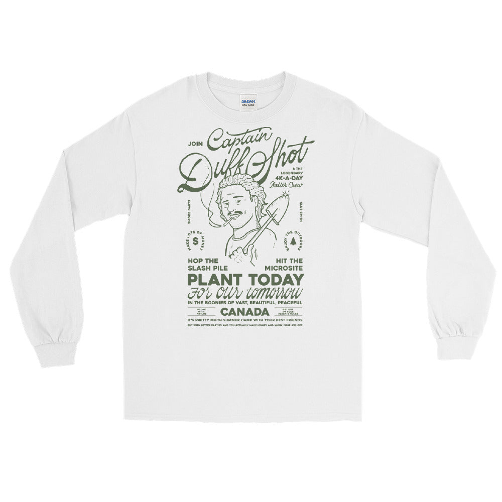 'Captain Duff Shot' Long Sleeve – Douglas Green