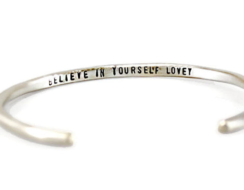 Jewelry  Bracelets  Cuff Bracelets  quote bracelet  custom cuff bracelet  engraved cuff men  mothers day gift personalized women  be safe bracelet  secret message cuff  inspirational gift  Positive Jewelry  mother daughter sister best auntie  Mantra Jewelry  mantra bangle