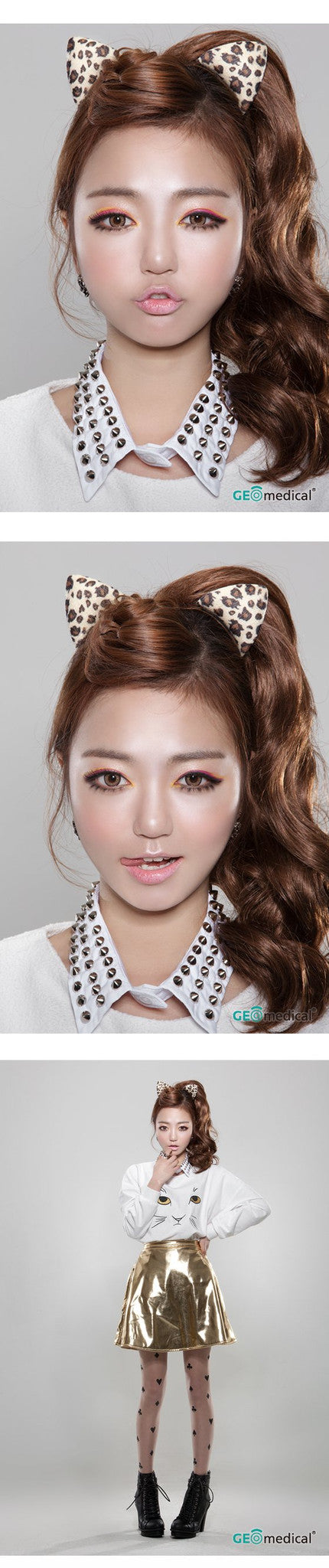 GEOLICA® HoliCat™ Barbie Cat Hazel Coloured Contact Lenses | Singapore Authorised Dealer | FREE Worldwide Shipping | Price Match Guarantee