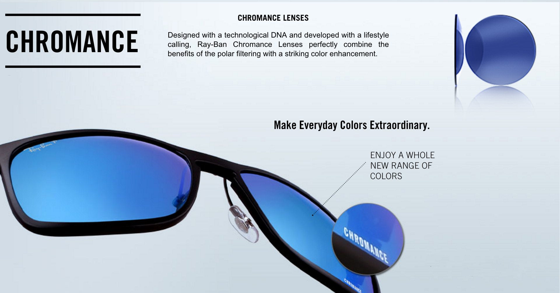 Ray-Ban Chromance Lenses