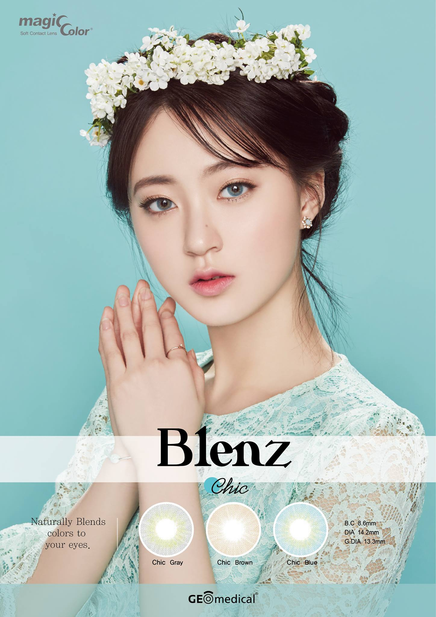 GEOLICA® Blenz Chic Coloured Contact Lenses | Singapore Authorised Dealer | FREE Worldwide Shipping | Price Match Guarantee