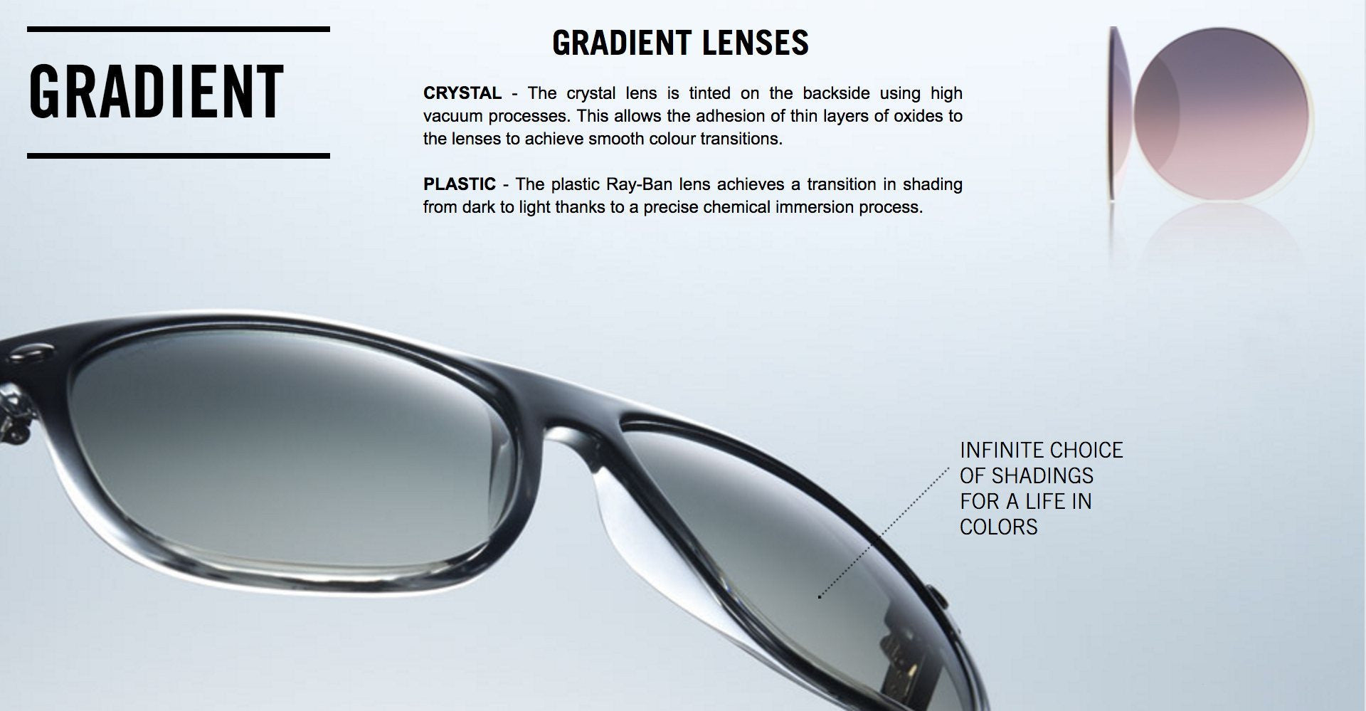 Ray-Ban Gradient Lenses