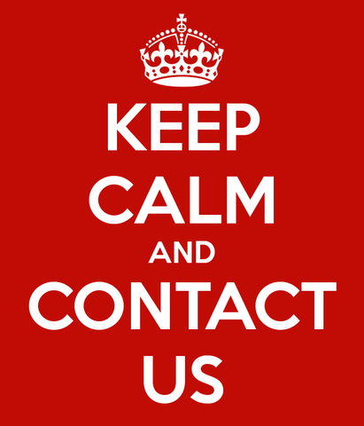 KEEP CALM AND CONTACT US by Sin Chew Optics