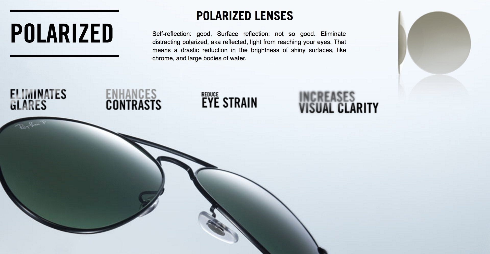 Ray-Ban Polarized Lenses