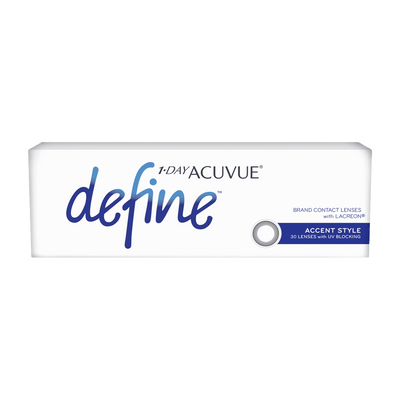 1-DAY ACUVUE DEFINE ACCENT STYLE, 30/Box-ACUVUE®-Sin Chew Optics