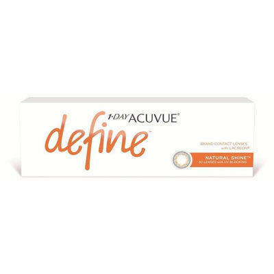 1-DAY ACUVUE DEFINE NATURAL SHINE, 30/Box-ACUVUE®-Sin Chew Optics