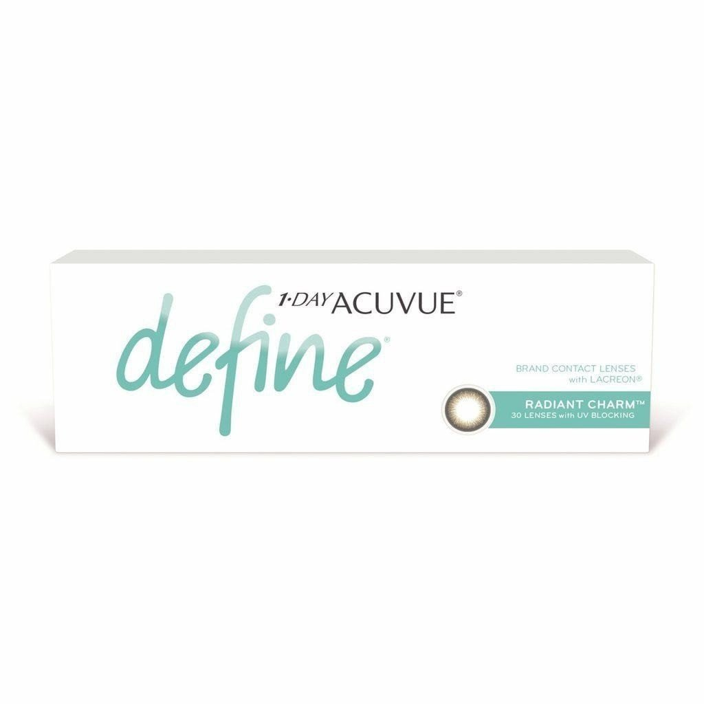 b389a1d52f956 1-DAY ACUVUE DEFINE RADIANT CHARM Contact Lenses - Sin Chew Optics