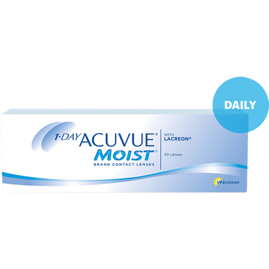 1-DAY ACUVUE MOIST, 30/Box-ACUVUE®-Sin Chew Optics