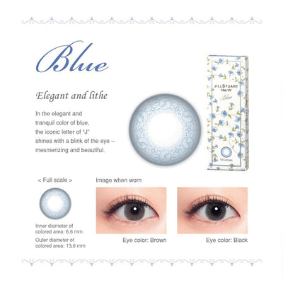 JILL STUART 1-DAY UV Blue, 30/Box-SEED-Sin Chew Optics