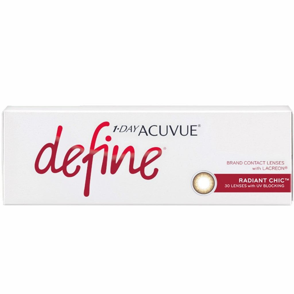 1-DAY ACUVUE DEFINE RADIANT CHIC Contact Lenses - Sin Chew Optics 70a113eae0