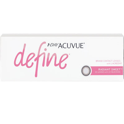1-DAY ACUVUE DEFINE RADIANT SWEET, 30/Box-ACUVUE®-Sin Chew Optics