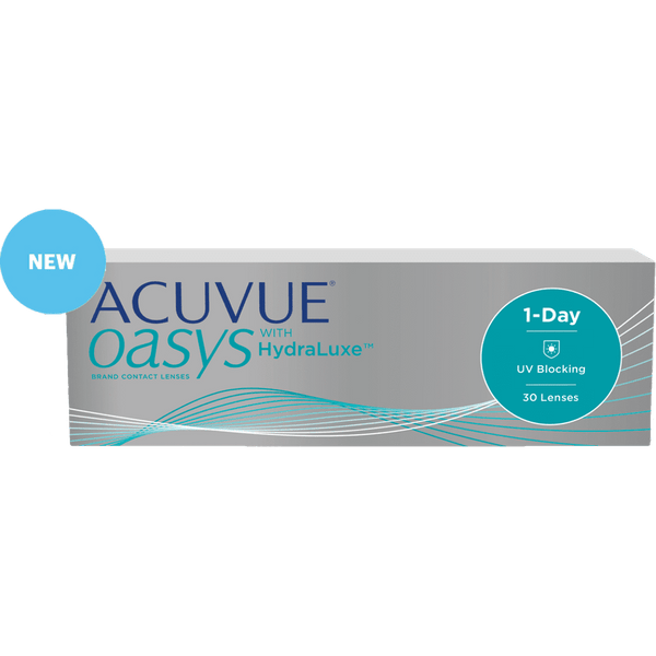 ACUVUE® | ACUVUE OASYS 1-DAY, 30/Box | Contact Lenses | 1+- | Singapore Authorised Dealer | Sin Chew Optics