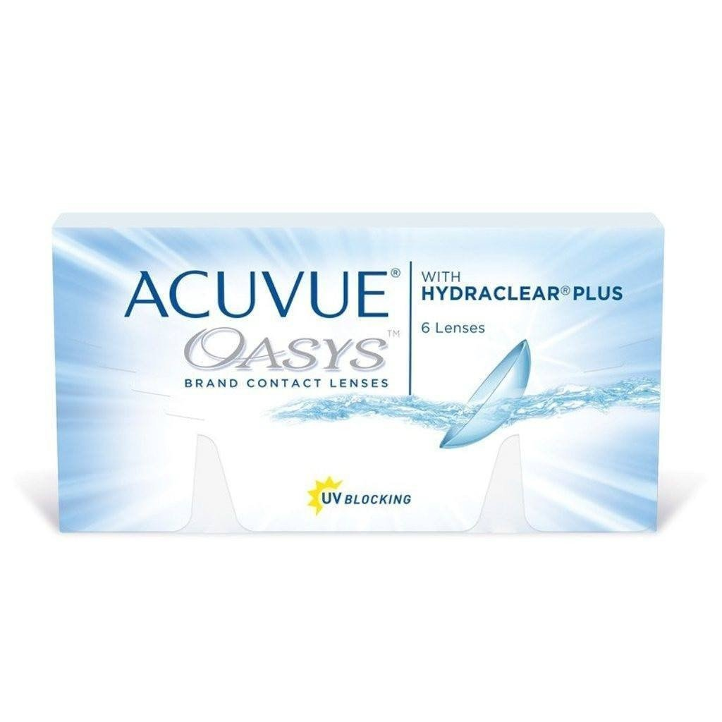 ACUVUE OASYS 2-WEEK HYDRACLEAR PLUS Contact Lenses - Sin Chew Optics 12241a86e2