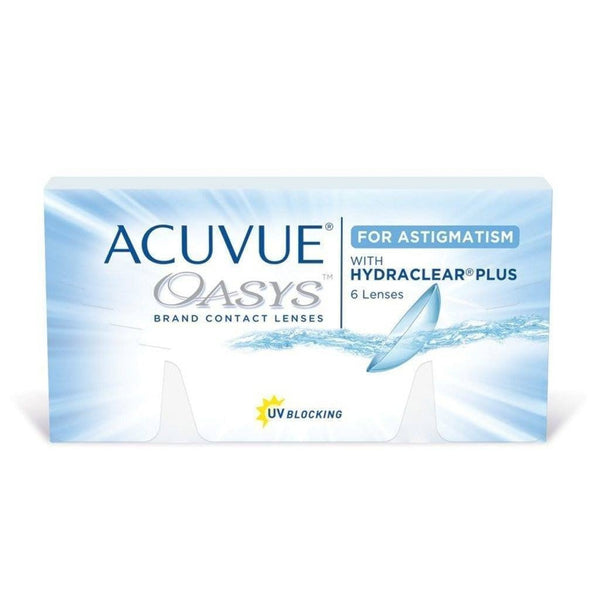 ACUVUE® | ACUVUE OASYS FOR ASTIGMATISM, 6/Box | Contact Lenses | 1+- | Singapore Authorised Dealer | Sin Chew Optics