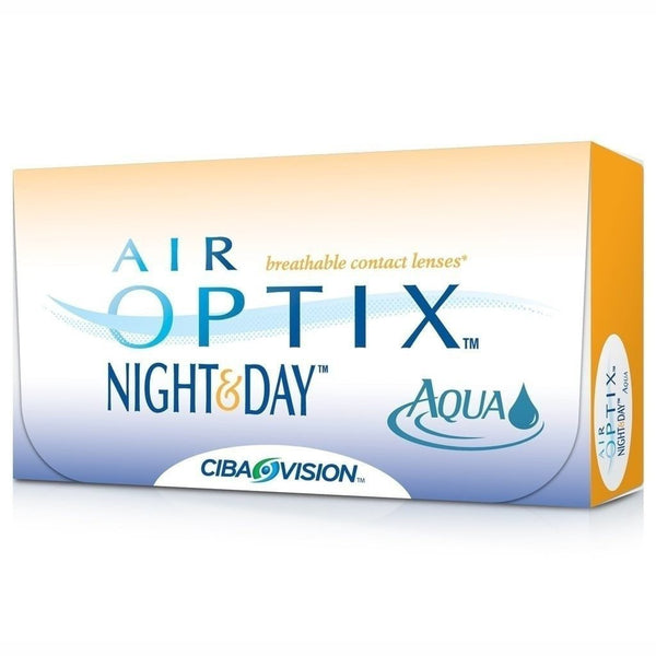 AIR OPTIX® | AIR OPTIX® NIGHT & DAY® AQUA, 6/Box | Contact Lenses | - | Singapore Authorised Dealer | Sin Chew Optics