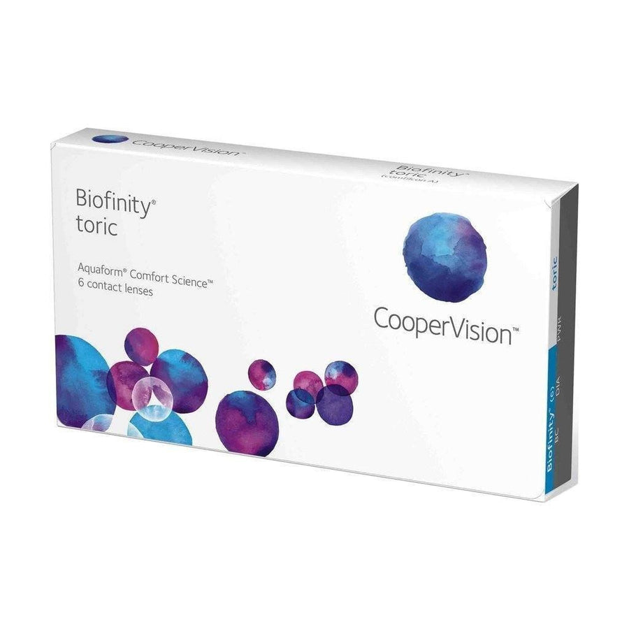 Biofinity toric, 6/Box-Biofinity®-Sin Chew Optics