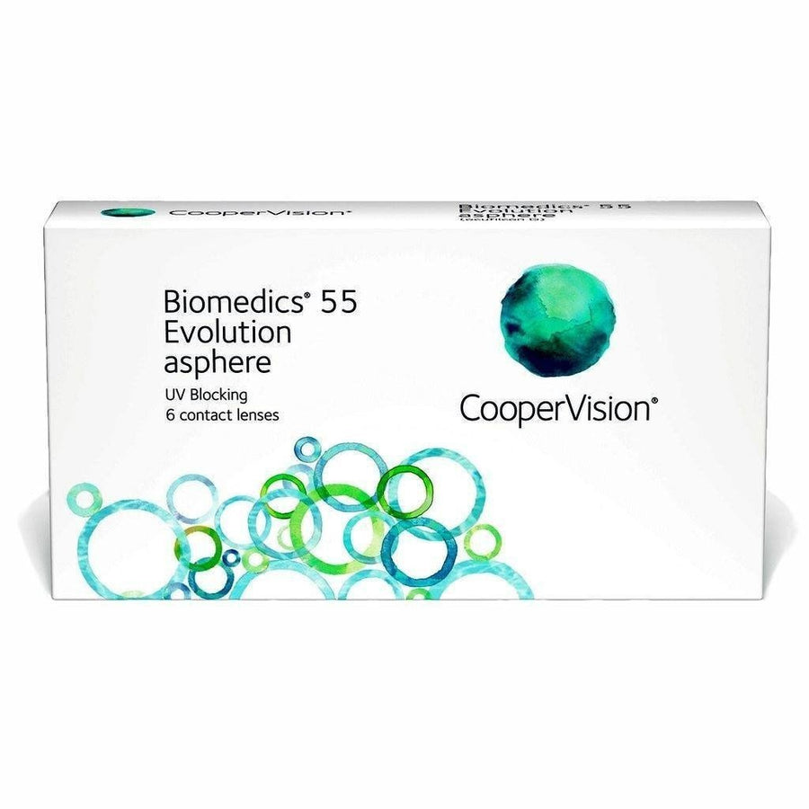 Biomedics® 55 Evolution, 6/Box-Biomedics®-Sin Chew Optics