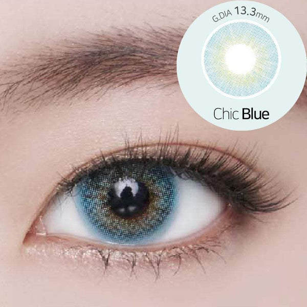 GEOLICA® | Geolica Blenz Chic Blue, 2/Box | Contact Lenses | - | Singapore Authorised Dealer | Sin Chew Optics