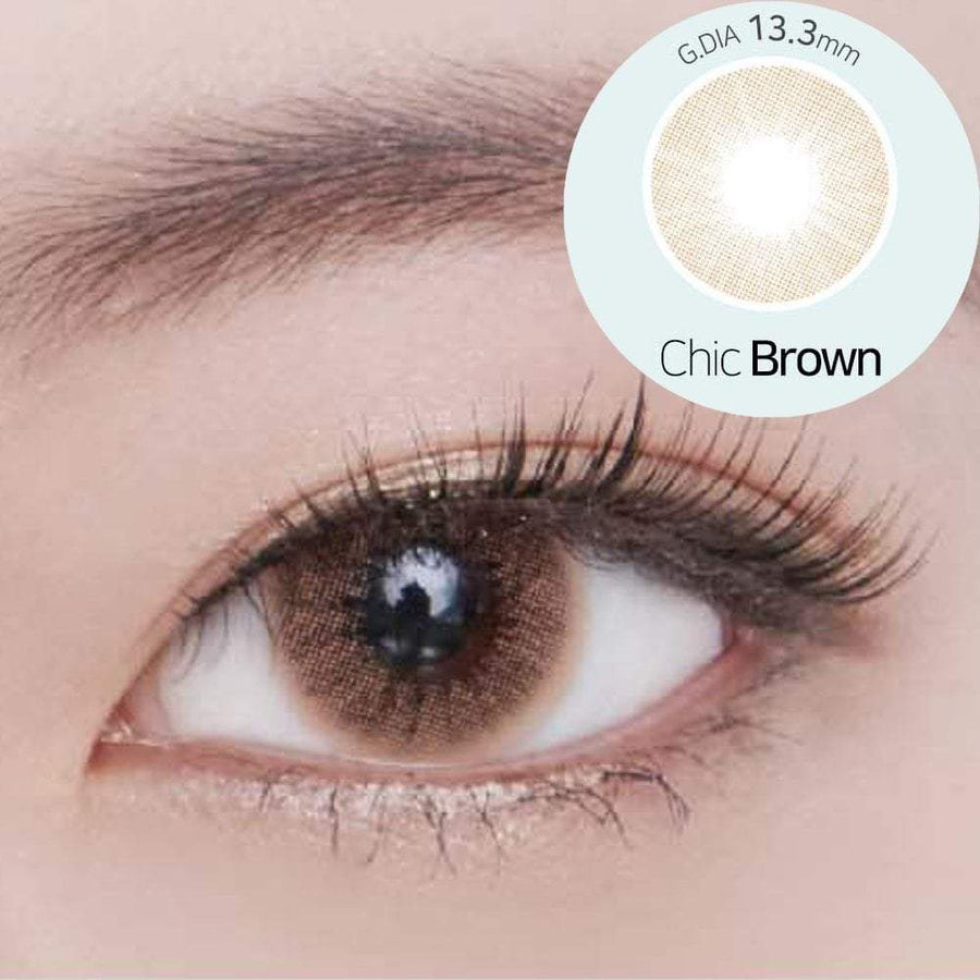 Geolica Blenz Chic Brown, 2/Box-GEOLICA®-Sin Chew Optics
