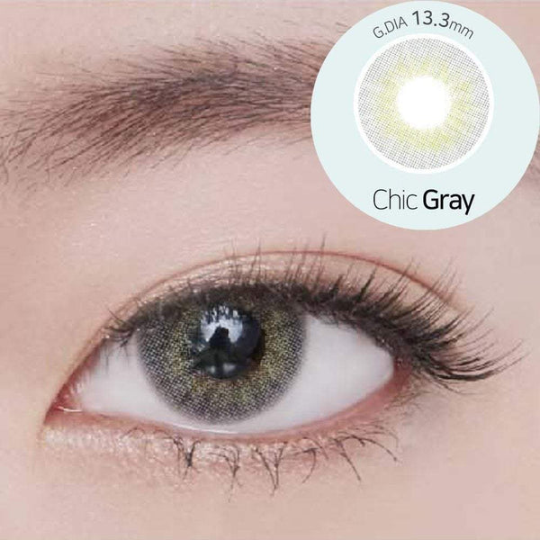 GEOLICA® | Geolica Blenz Chic Gray, 2/Box | Contact Lenses | - | Singapore Authorised Dealer | Sin Chew Optics