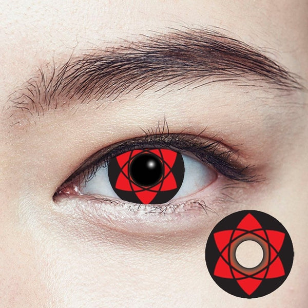 GEOLICA® | Geolica Crazy Lens CP-S8 Sasuke's Mangekyou Sharingan | Contact Lenses | - | Singapore Authorised Dealer | Sin Chew Optics