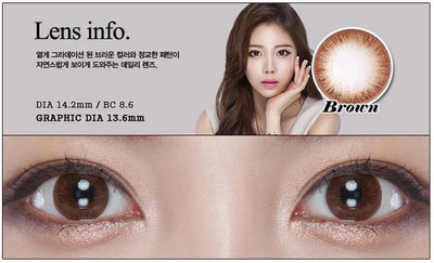 Geolica Eyevelyn Brown, 2/Box-GEOLICA®-Sin Chew Optics
