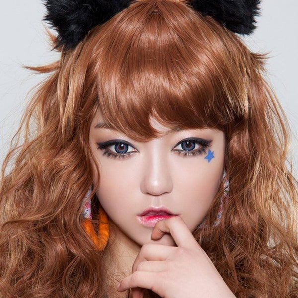GEOLICA® | Geolica HoliCat Funky Cat Blue, 2/Box | Contact Lenses | - | Singapore Authorised Dealer | Sin Chew Optics