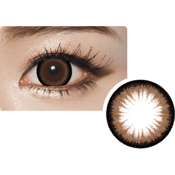 GEOLICA® | Geolica Princess Mimi Almond Choco, 2/Box | Contact Lenses | - | Singapore Authorised Dealer | Sin Chew Optics