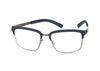 ic! berlin | ic! berlin Downtown | Eyeglasses | Downtown, graphite-brutal-blue- | Singapore Authorised Dealer | Sin Chew Optics