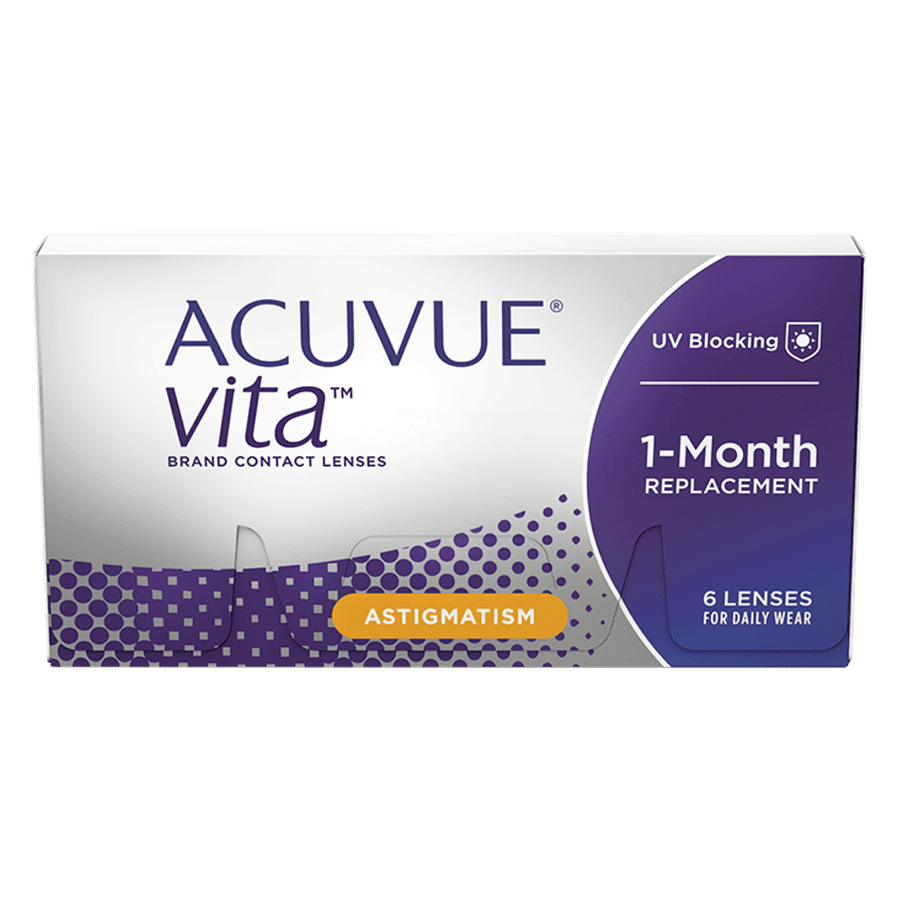 ACUVUE VITA for ASTIGMATISM, 6/Box-ACUVUE®-Sin Chew Optics
