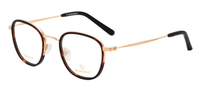 RETROCRAFT | RETROCRAFT RC1080 Black | Eyeglasses | Demi- | Singapore Authorised Dealer | Sin Chew Optics