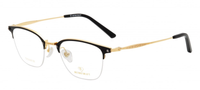 RETROCRAFT | RETROCRAFT RC1095 Black/Matt Gun Metal | Eyeglasses | Black/Gold- | Singapore Authorised Dealer | Sin Chew Optics