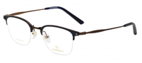 RETROCRAFT | RETROCRAFT RC1095 Black/Matt Gun Metal | Eyeglasses | Blue/Brown- | Singapore Authorised Dealer | Sin Chew Optics