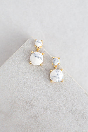 Mona Stone Earrings