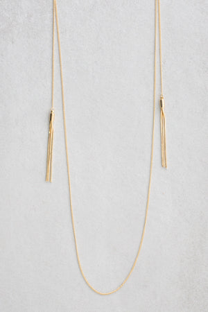 Tsarina Tassel Layered Necklace