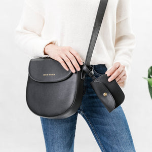 The Piper Crossbody Handbag | Black