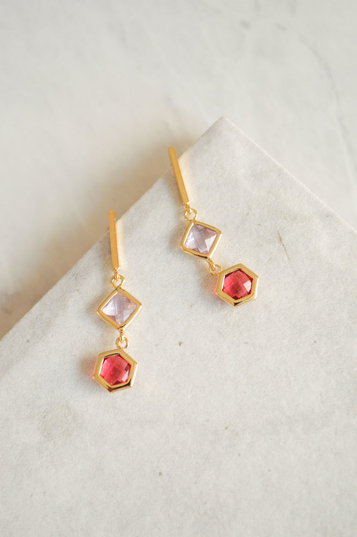 Lora Bar Jewel Drop Earrings