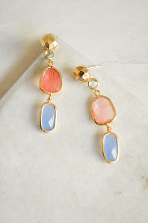 Camille Jewel Drop Earrings
