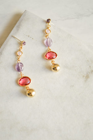 Anaya Jewel Drop Earrings