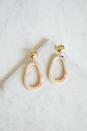 Neema Resin Drop Earrings